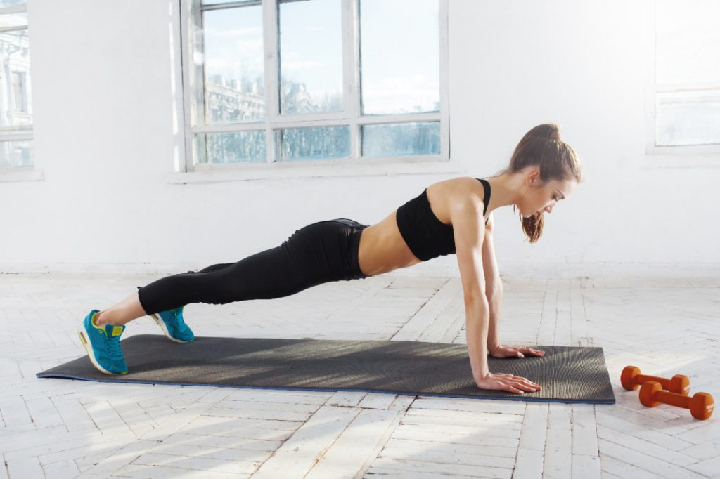 Pilates Push Ups are one of the most popular exercises to perform!