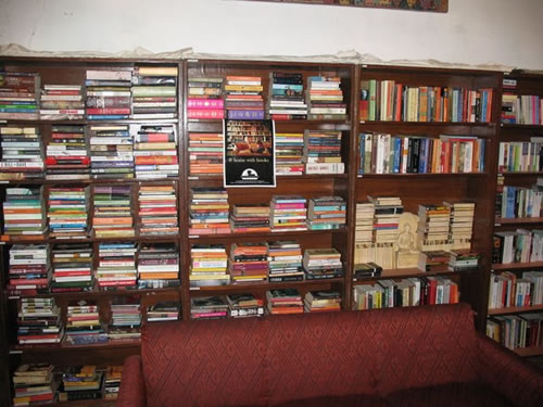 The vast collection of books makes Literari Book Shop one of the best bookstores in the country.