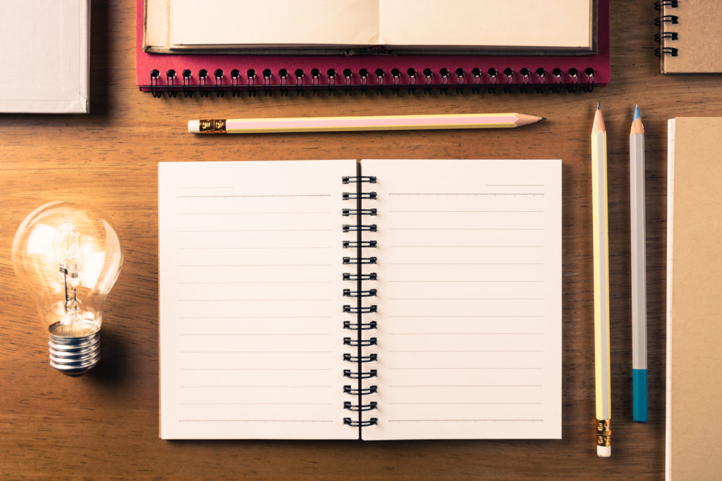 Always note down any ideas. Writing down ideas might turn into popular short stories some day.