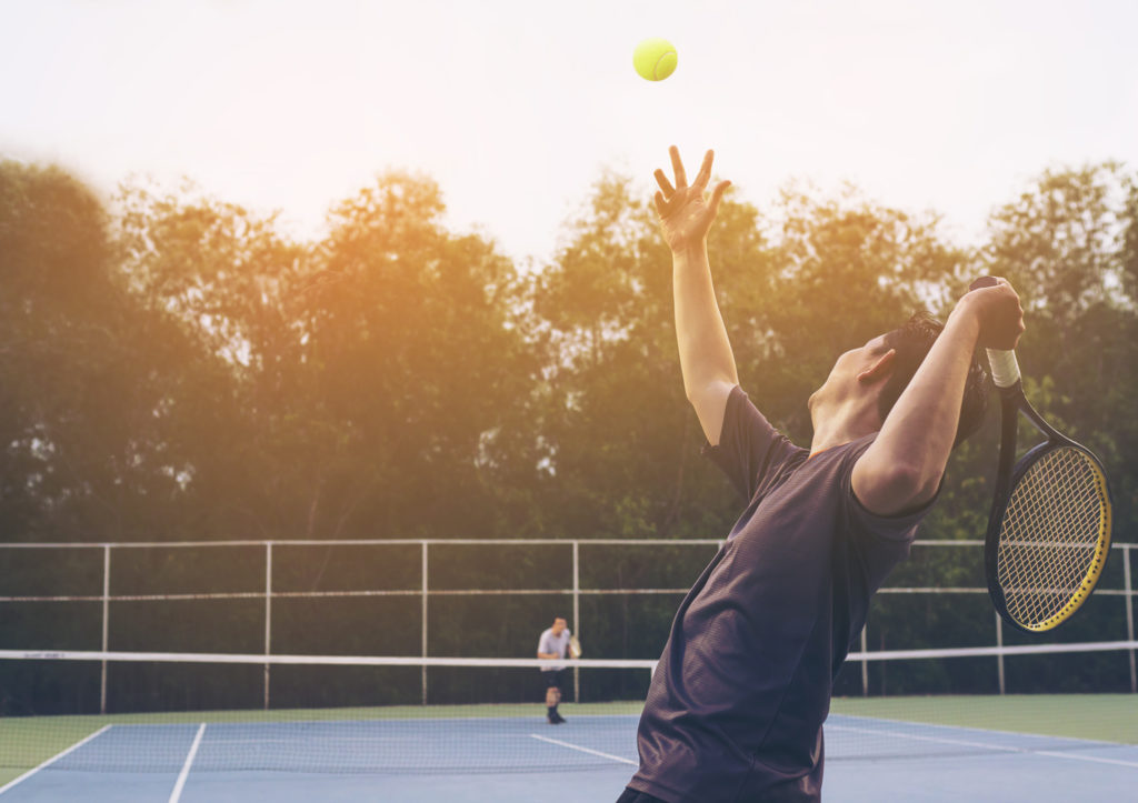 Tennis is an all rounder sport when it comes to fitness, be it cardio or strength.