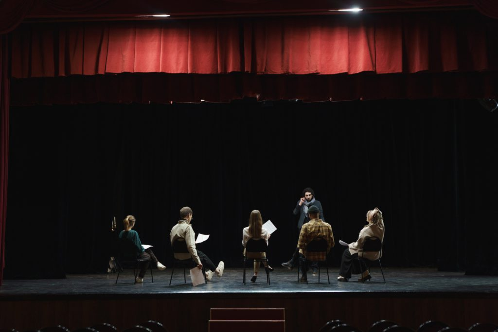 Joining an acting class is another helpful idea for an actor.