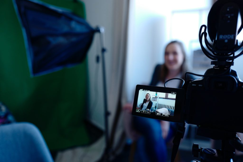Actors need to practice acting at home in front of your camera.