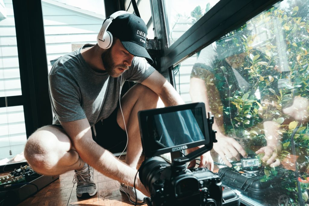 In the field of film making, a good director always plan one step ahead.