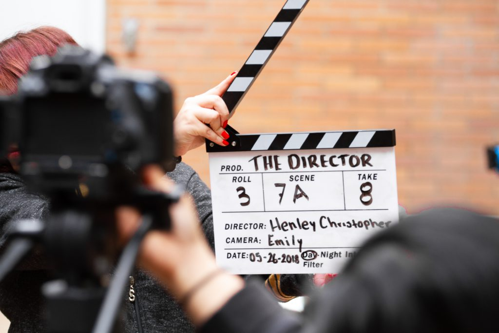 Actors need to be your own director when you first start out.